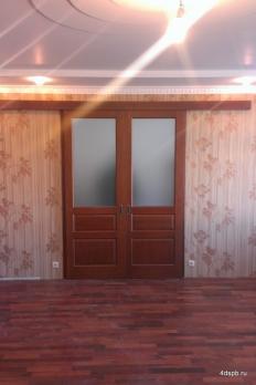 Раздвижная откатная дверь купе два полотна