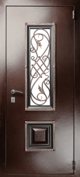 Входная металлическая дверь Гранит Коттедж