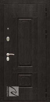 Входная металлическая дверь Мадрид зеркало- Райтвер