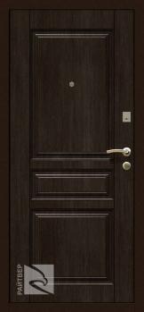 Входная металлическая дверь Х4 венге - Райтвер