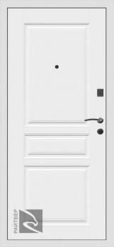 Входная металлическая дверь Х4 Беленый дуб - Райтвер