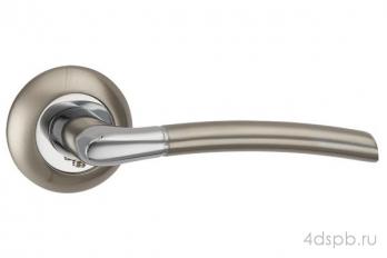 Дверная ручка Punto - ARDEA TL SN/CP-3 матовый никель/хром