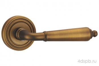 Дверная ручка Punto - LIBRETTO ML SN/CP-3 матовый никель/хром