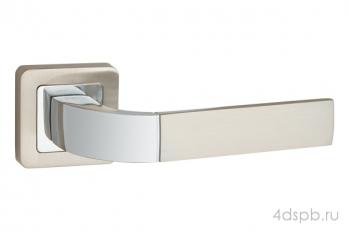 Дверная ручка Punto - ORION QR SN/CP-3 матовый никель/хром