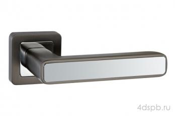 Дверная ручка Punto - MARS QR GR/CP-23 графит/хром
