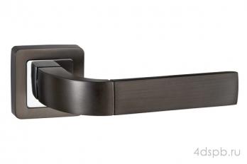 Дверная ручка Punto - ORION QR GR/CP-23 графит/хром