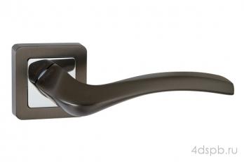 Дверная ручка Punto - VESTA QR GR/CP-23 графит/хром