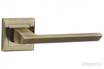 Дверная ручка Punto - BLADE QL ABG-6 зеленая бронза