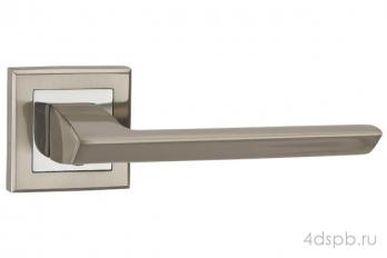 Дверная ручка Punto - BLADE QL SN/CP-3 матовый никель/хром