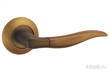 Дверная ручка Punto - PELICAN TL CF-17 кофе