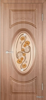 Межкомнатная дверь Престиж Гармония витраж