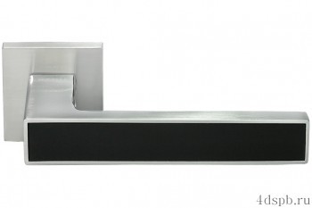 Дверная ручка Morelli - DIY MH-48-S6 SC/BL