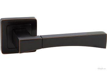 Дверная ручка Punto - DELTA QR/HD ABL-28 темная медь