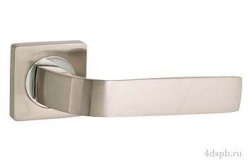 Дверная ручка Punto - INTEGRA ZQ SN/CP-3 матовый никель/хром