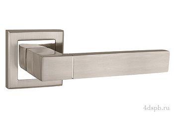 Дверная ручка Punto - STYLE QL SN/CP-3 матовый никель/хром